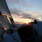 upwind sailing